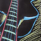 Neon Chalk Instruments 1 by Holly Daniels
