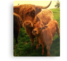 This is my mummy! Metal Print