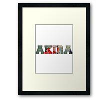 Akira Tetsuo  Framed Print