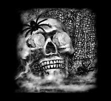 Scary Skull by Eva Thomas