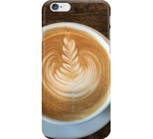 Latte Coffee Art iPhone Case/Skin