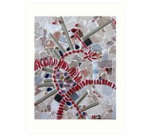 Red Arches Art Print