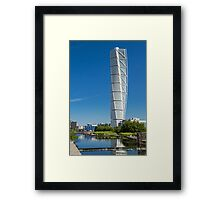 Turning Torso Framed Print