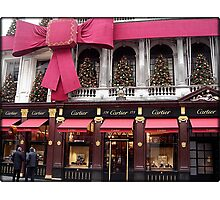 Amazing London - XMAS DECORATIONS - (UK) Photographic Print