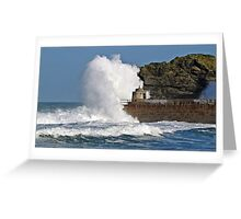 """"""" 4 hours after High Tide & it's still rough"""" Greeting Card"""