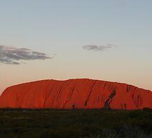Sunset at Uluru by prmorgan