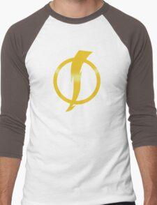 Static Shock Logo Men's Baseball ¾ T-Shirt
