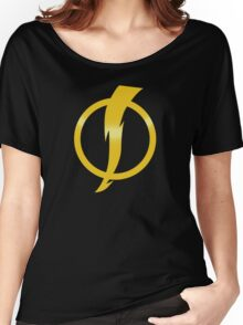 Static Shock Logo Women's Relaxed Fit T-Shirt