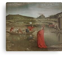 Miraculous Draught of Fishes, from the Altarpiece of Cardinal Francois de Mies by Knorad Witz Metal Print
