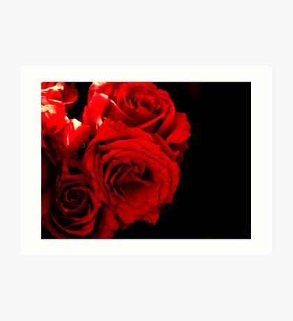 El rojo  Art Print