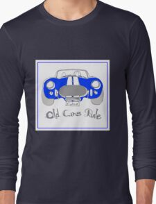 'Old Cars Rule'AC Cobra 427 Long Sleeve T-Shirt