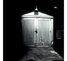 Tin garage Photographic Print