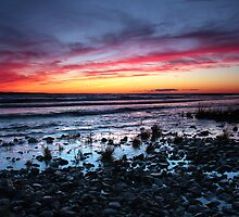 Presque Isle Sunset  by Megan Noble