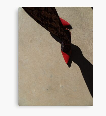 01-06-11 Down the Avenue Canvas Print