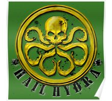 Hydra Traditional colors Poster