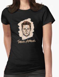 Tobias Menzies Portrait Womens Fitted T-Shirt