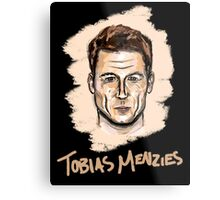 Tobias Menzies Portrait Metal Print