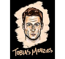 Tobias Menzies Portrait Photographic Print