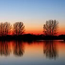 Sunset at St Chad's Water 2 by Paul  Green