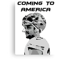 Jarryd Hayne - Coming to America Canvas Print
