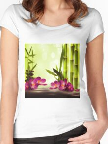 Bamboo Women's Fitted Scoop T-Shirt