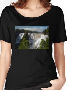 Kakabeka Falls Ontario Women's Relaxed Fit T-Shirt