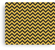 Hufflepuff Chevron Canvas Print
