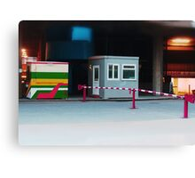 barriers. Canvas Print
