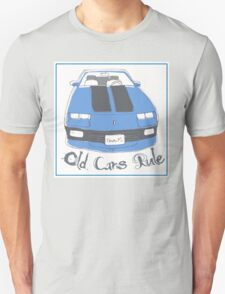 'Old Cars Rule' Chevrolet Camaro RS T-Shirt