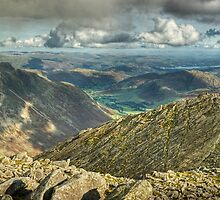 Bowfell....The Great Slab by VoluntaryRanger