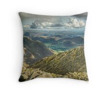 Bowfell....The Great Slab Throw Pillow