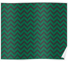 Slytherin Chevron Poster