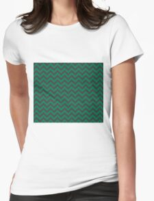Slytherin Chevron Womens Fitted T-Shirt