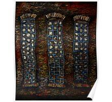 the three windows Poster