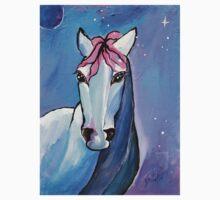 Polaris Whimsical Horse Art by Valentina Miletic One Piece - Long Sleeve