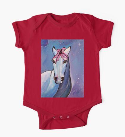 Polaris Whimsical Horse Art by Valentina Miletic One Piece - Short Sleeve