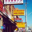 Toronto Chinatown Street Scene (Dundas West at Spadina, Toronto, Ontario, Canada, March 2007) by Edward A. Lentz