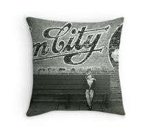 Gem City Throw Pillow