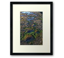 View From Outer Space? Framed Print