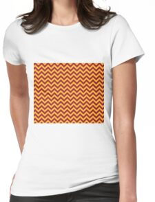 Gryffindor Chevron Womens Fitted T-Shirt