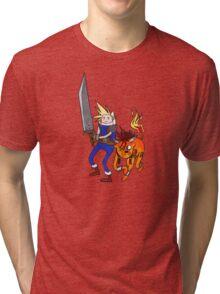 FF7 Time! Tri-blend T-Shirt