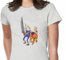FF7 Time! Womens Fitted T-Shirt