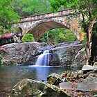 Crystal Creek Bridge - Paluma. by Alwyn Simple