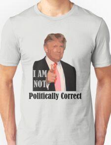 2016 election not politically correct donald trump T-Shirt