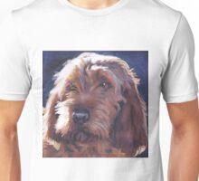 Basset Fauve de Bretagne Fine Art Painting Unisex T-Shirt