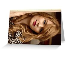 Picture Perfect - Boadicea  Greeting Card