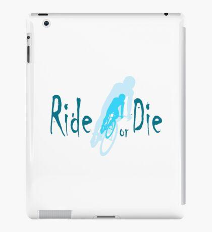 Ride or Die Blue iPad Case/Skin