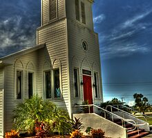 Everglades Community Church by Virginia N. Fred