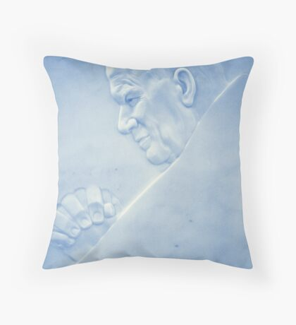 His Holiness Throw Pillow