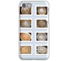Latte Coffee Art Collection iPhone Case/Skin